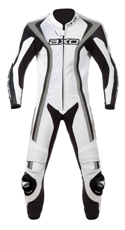 Jumpsuit Leather AXO Talon White Ages