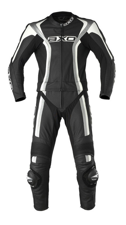 Piece suit AXO Talon Comby Leather Black