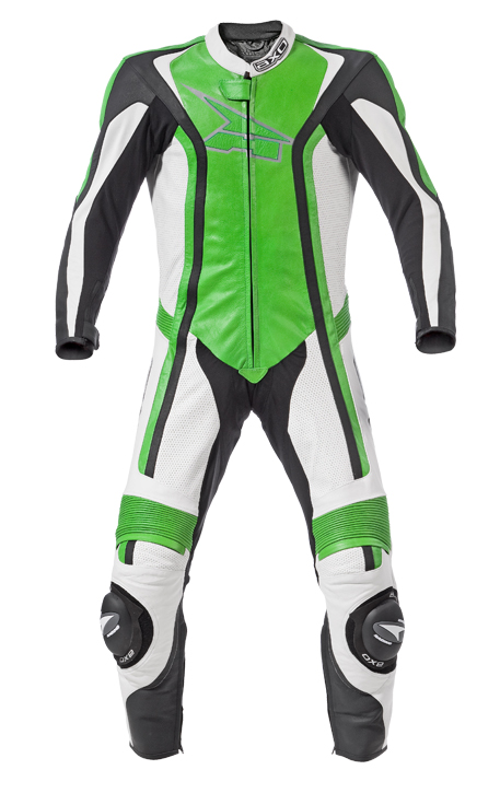 AXO Talon leather suit Green