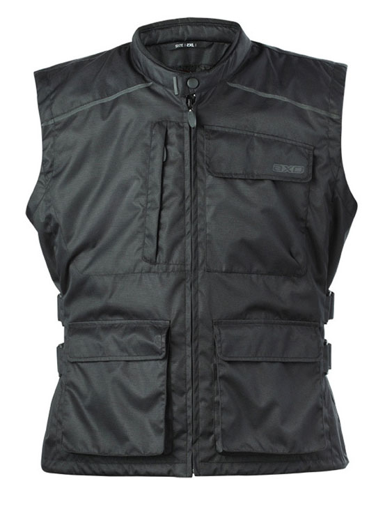 AXO Black Vest Boston