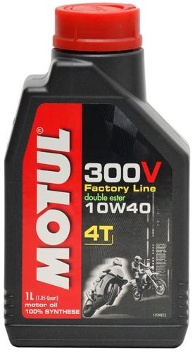 Flacone olio Motul 300V 10W40 1lt.