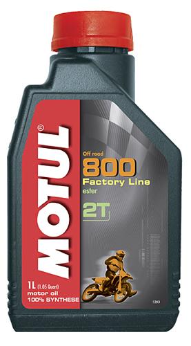 Flacone olio Motul 800 2T off road 1lt.