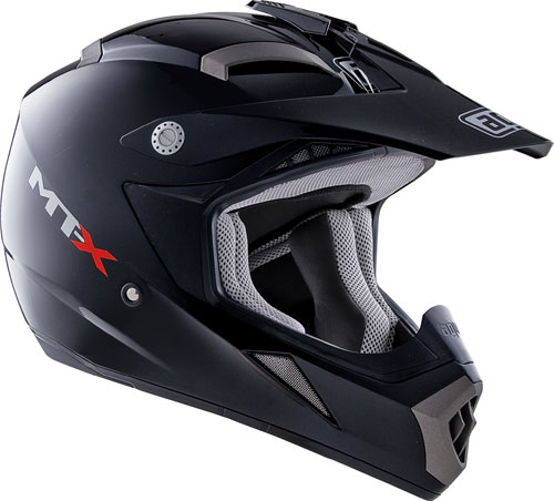 Casco moto cross Agv MT-X Mono nero
