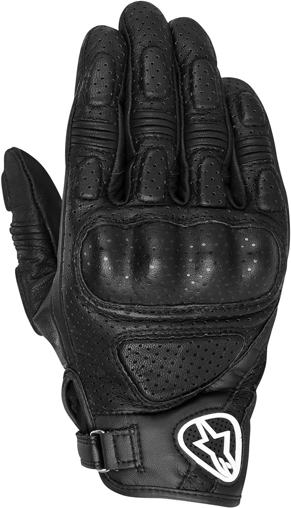 ALPINESTARS Mustang leather gloves stealth black
