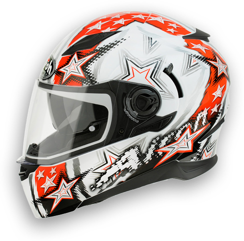 Motorcycle Helmet Airoh Movement Start red
