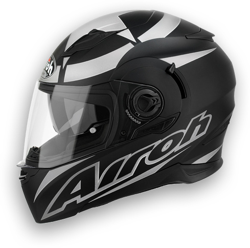 Casco moto Airoh Movement Shot nero opaco