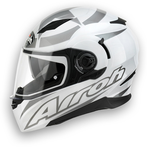 Casco moto Airoh Movement Shot bianco lucido