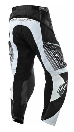 Pants Glide cross AXO Enduro Black Grey