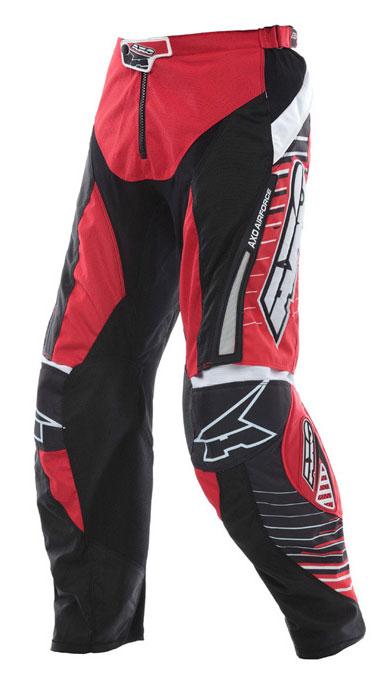 Pantaloni cross AXO Rail Rosso nero