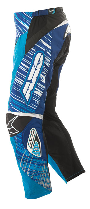 Pantaloni cross AXO Lightning Blu