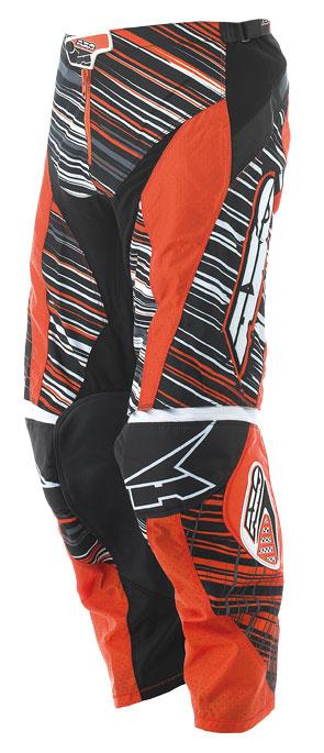 Pants cross AXO Lightning Black Orange