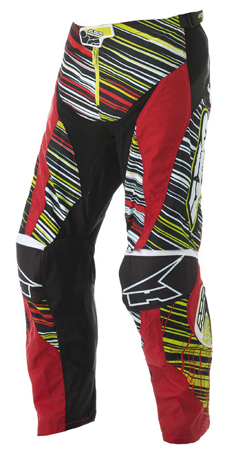 Pants cross AXO Lightning Red Green