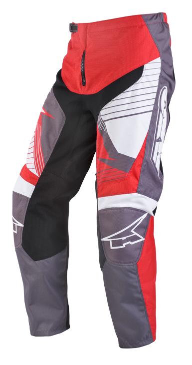 Pantaloni cross AXO SR Grigio Rosso