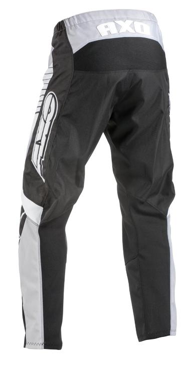 Pantaloni cross AXO SR Nero Grigio Bianco