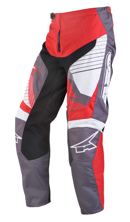 AXO SR JR kid cross trousers Grey Red
