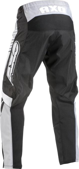 Pantaloni cross bambino AXO SR JR Nero Grigio