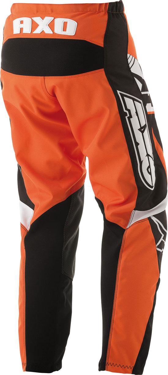 Pantaloni cross bambino AXO SR JR Arancio
