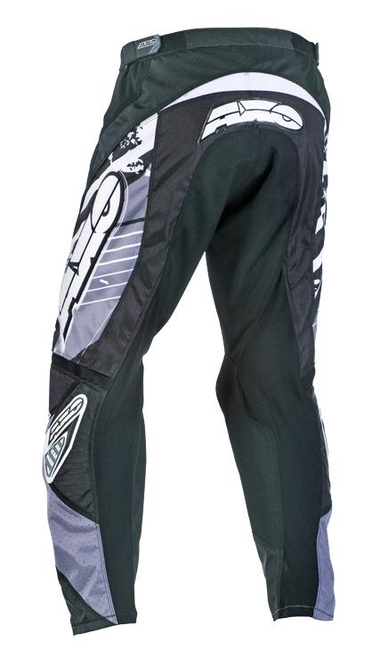 Pantaloni cross AXO Grunge Grigio Nero