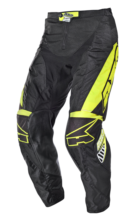 Pantaloni cross AXO Motion 2 Nero Giallo