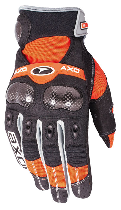 Gloves cross AXO VR-X Orange
