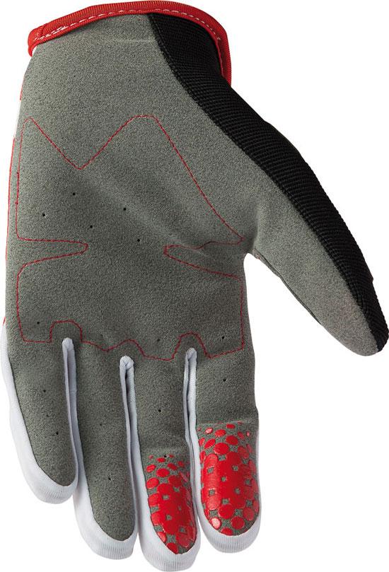 Gloves AXO right red cross