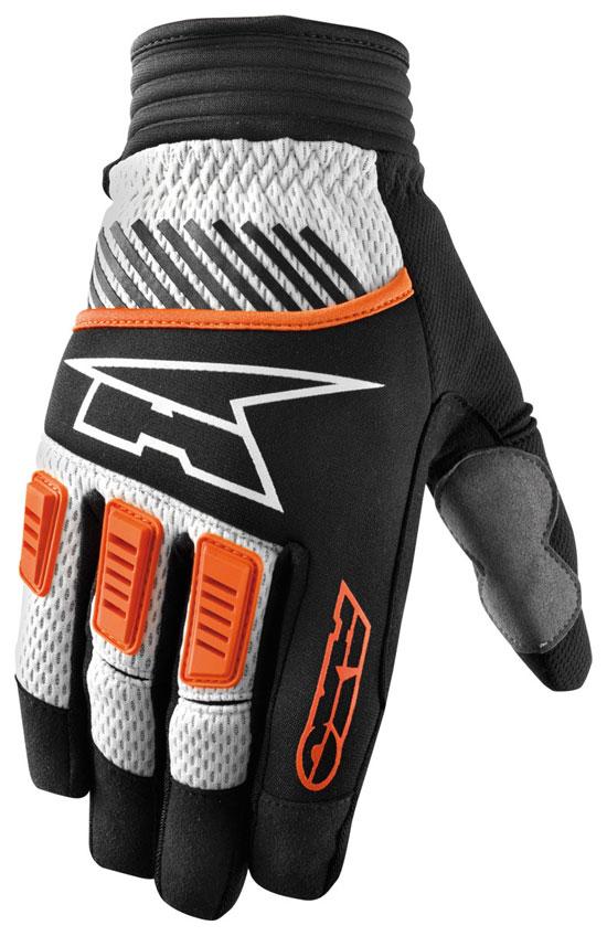 Gloves AXO cross PDLK Orange