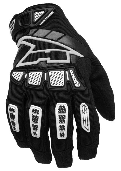 Gloves cross AXO Black Whip