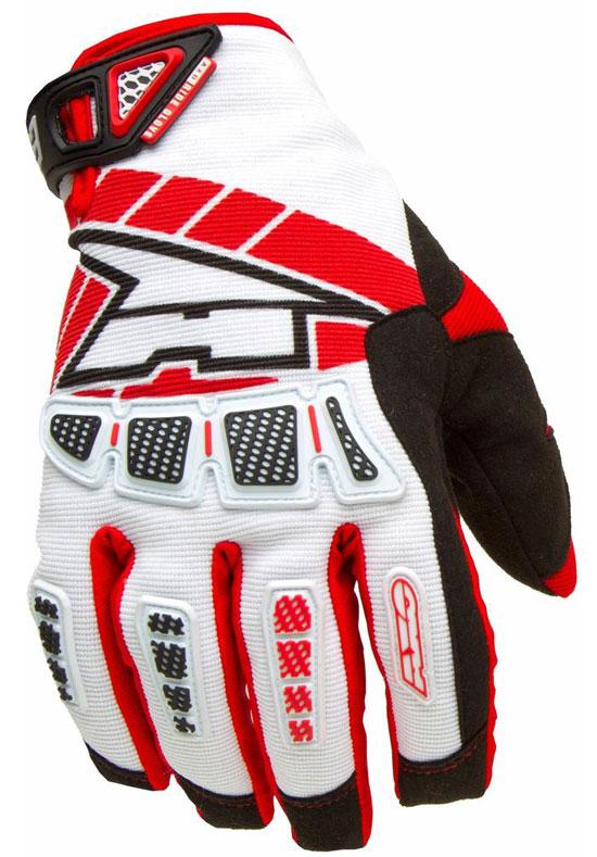 Gloves AXO Whip Red Cross