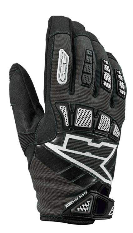AXO Whip Jr kid cross gloves Black