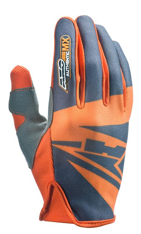 AXO SX cross gloves Grey Orange