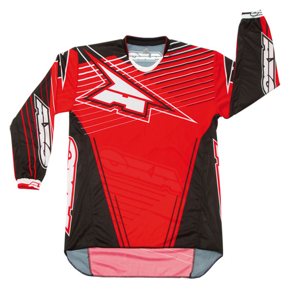 Jersey cross AXO Rail Red Black