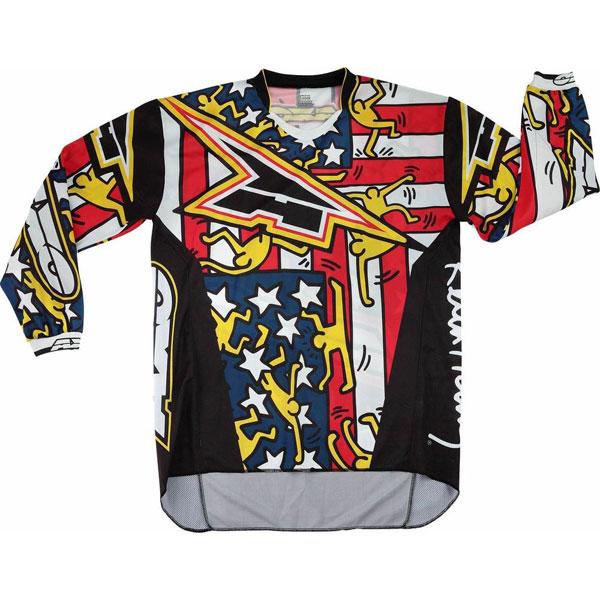 Jersey cross AXO Keith Haring USA