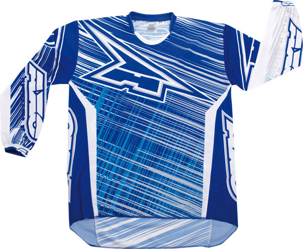Jersey cross AXO Blue Lightning
