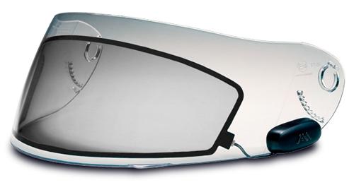 Inserto LCD MX-8 E-Tint da chiaro a fumè in meno di 1 secondo