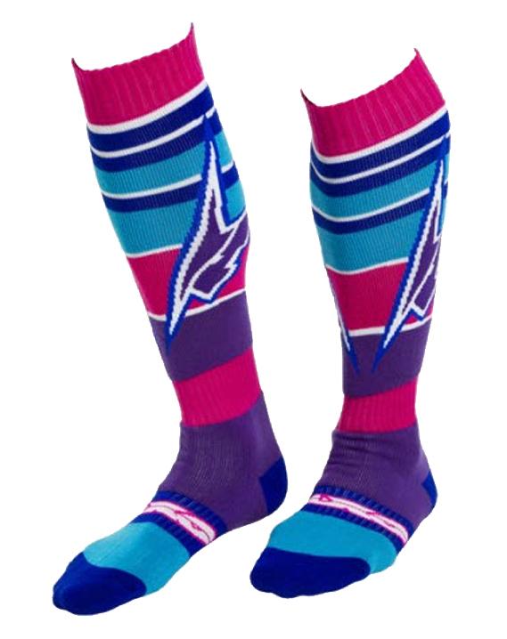 AXO EVO cross socks Pink Purple