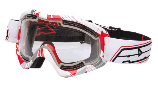 Eyeglasses cross AXO Alien White Red