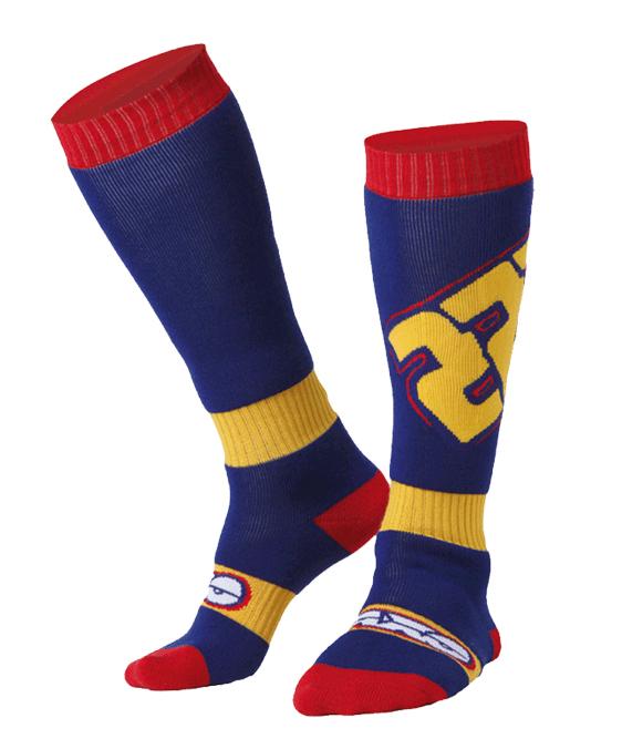 AXO TC222 cross socks Blue