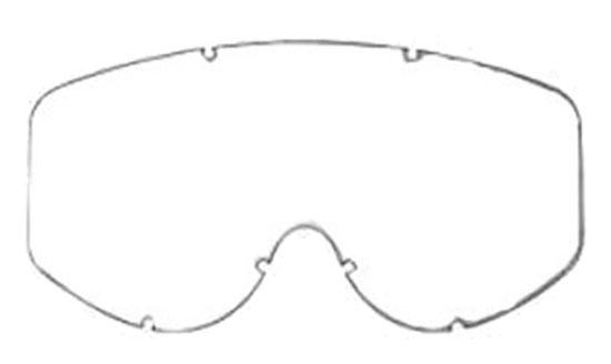 Lente doppia fumè di ricambio per occhiali AXO Alien