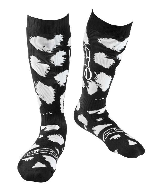 AXO cross socks White Black