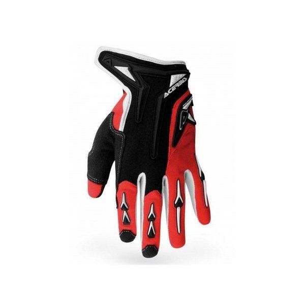 Gloves Acerbis Motocross Mx-x2 Red