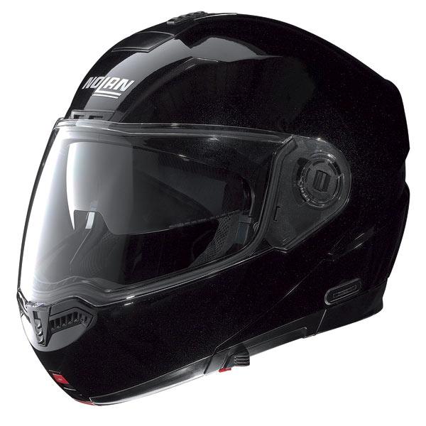 Nolan N104 Special N-Com open-face helmet metal black