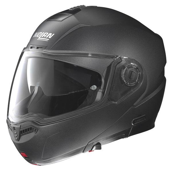 Nolan N104 Special N-Com open-face helmet black graphite