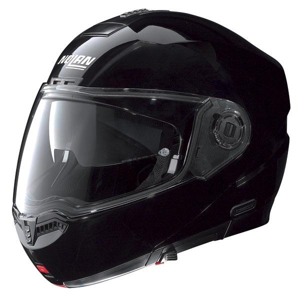 Nolan N104 Classic N-Com open-face helmet glossy black