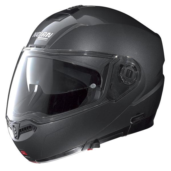 Nolan N104 Classic N-Com open-face helmet lava grey