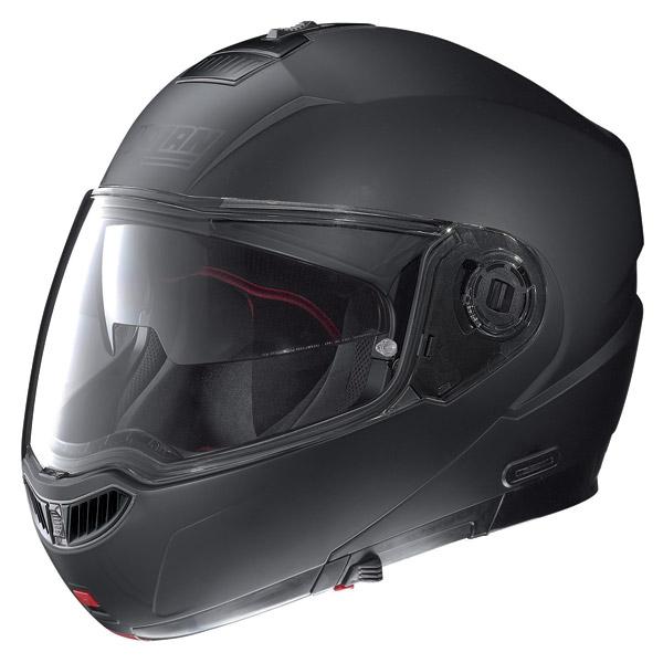 Helmet flip-up Nolan N104 Evo Classic N-Com flat black