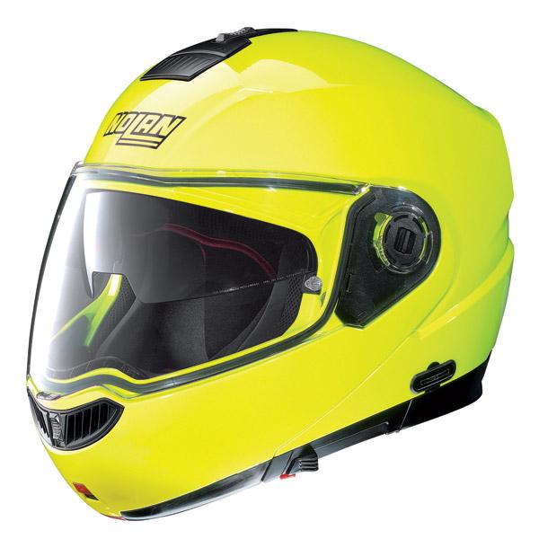Helmet flip-up Nolan N104 Evo Hi-Visibility N-Com fluo yellow