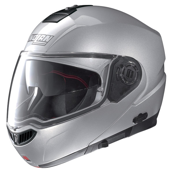 Helmet flip-up Nolan N104 Evo Special N-Com salt silver