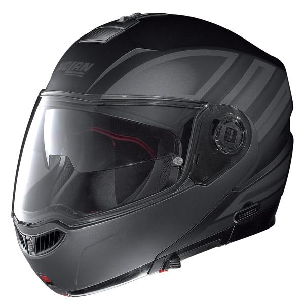 Motorcycle Helmet flip-up Nolan N104 Evo Voyage N-Com matt black