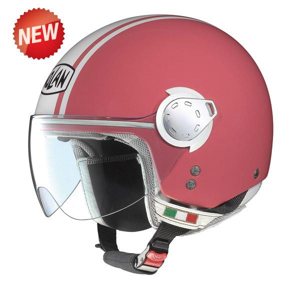 Nolan N20  Traffic Caribe Plus Coral jet helmet