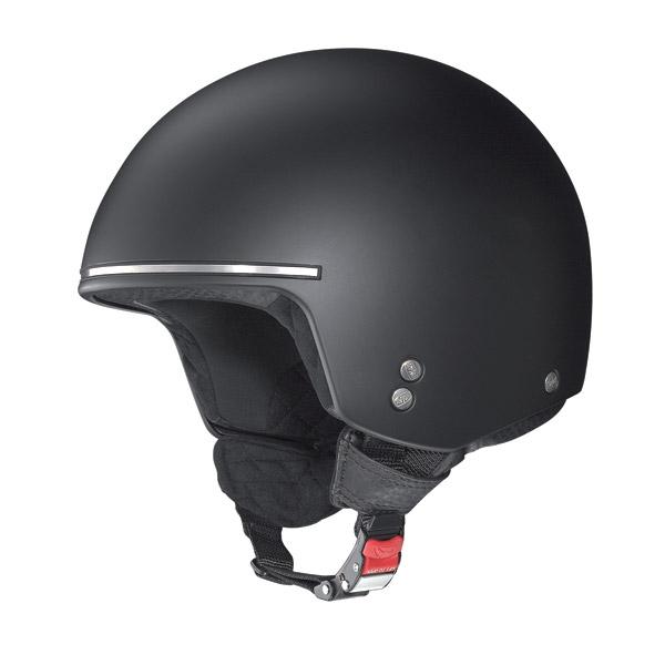 Nolan N20 Naked Chopper jet helmet flat black